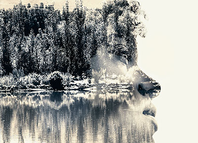 double exposure picture